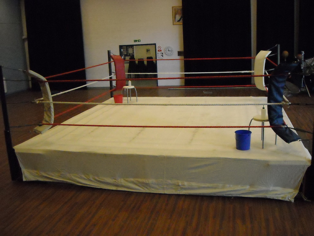 Boxing Ring Rostrum