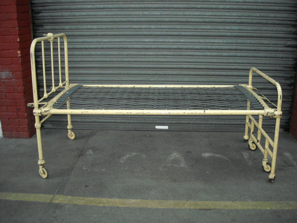 Hospital Bed Period Beige