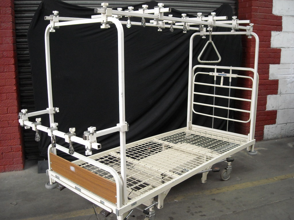 Hospital Bed Fracture Frame Prop Hire And Deliver