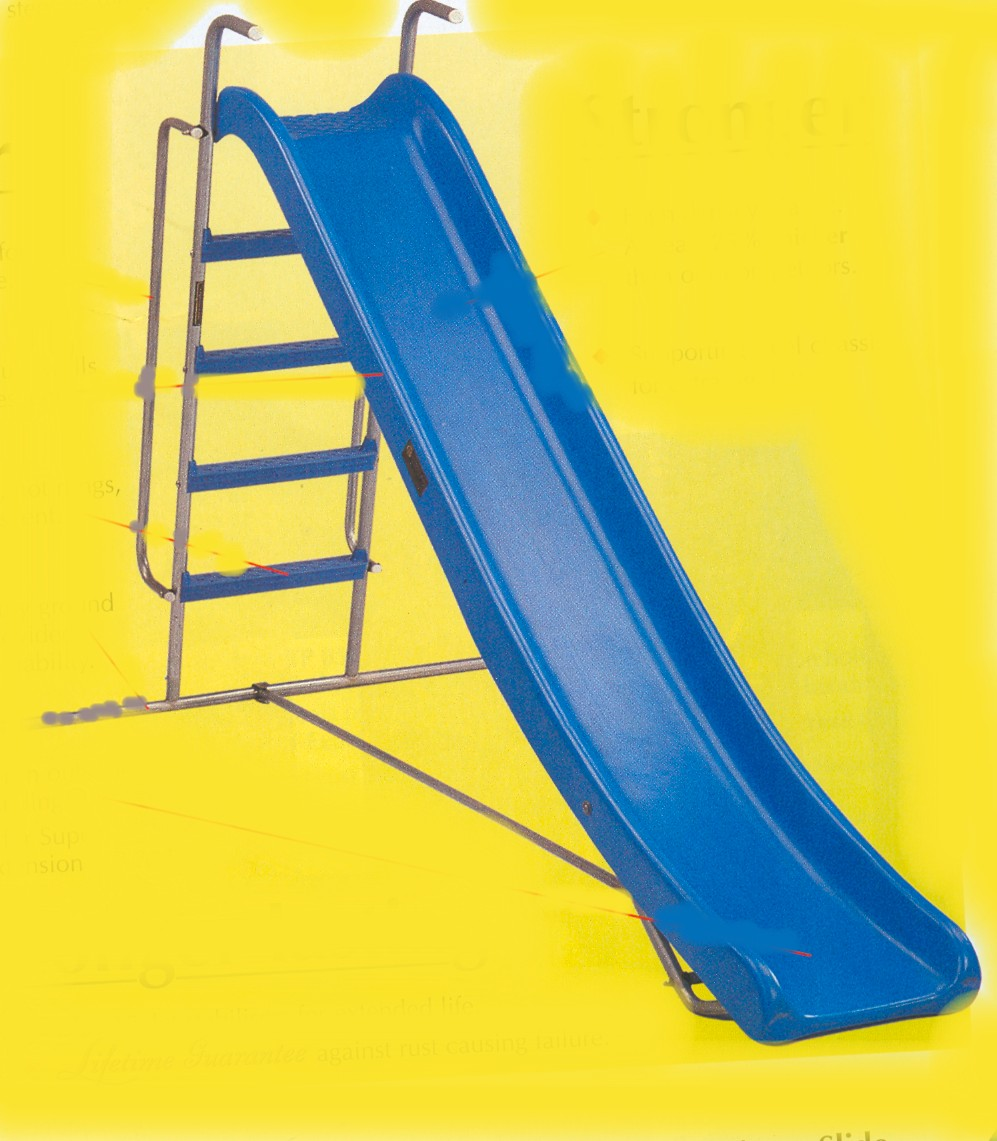 Garden Slide Large Blue Freestanding Prop Hire And Deliver