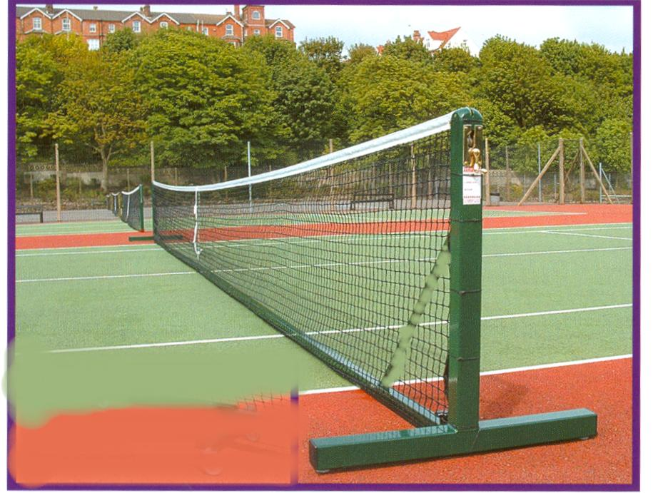 Tennis Net Posts Free Standing