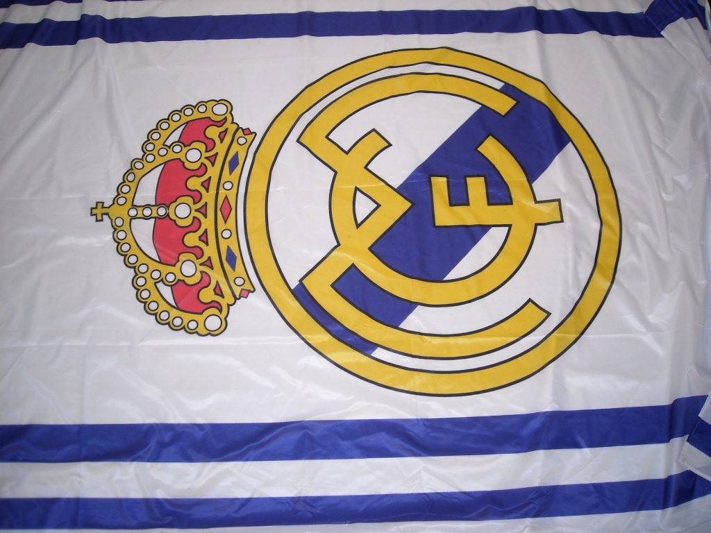 Football Supporters Flags Real Madrid - Prop Hire and Deliver