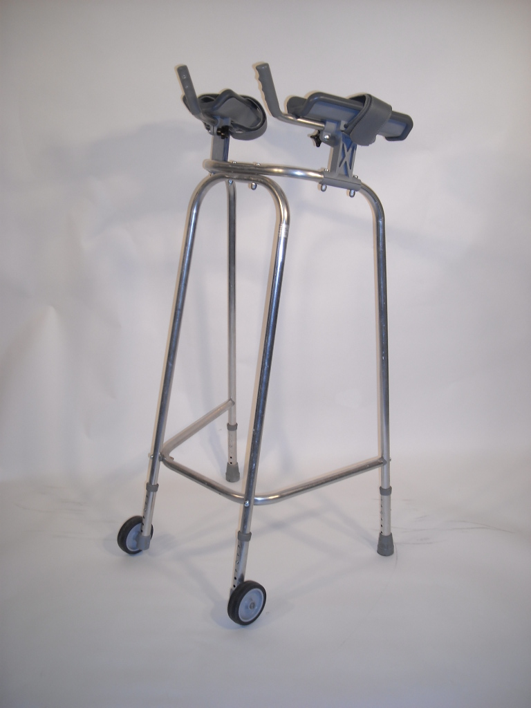 Zimmer Frame With Arm Rests