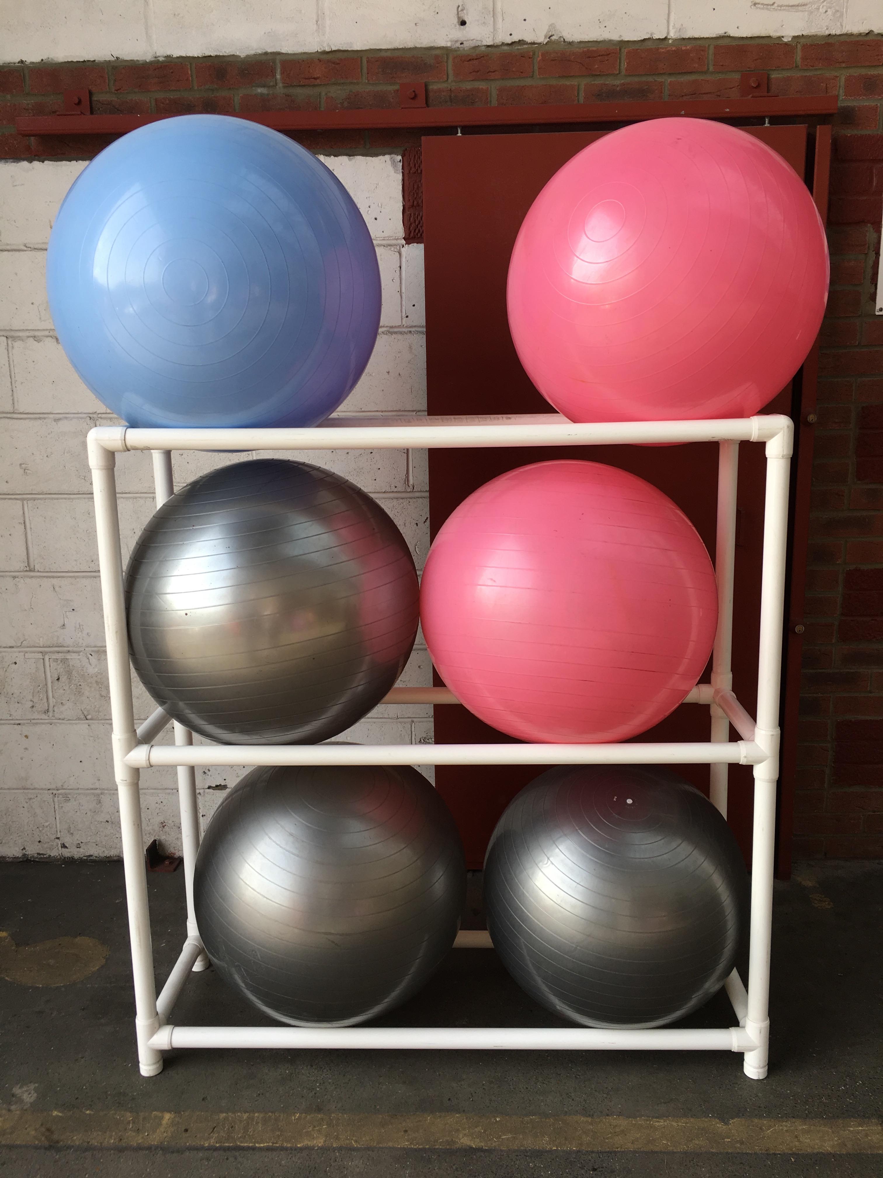 Exercise ball rack 6 Ball