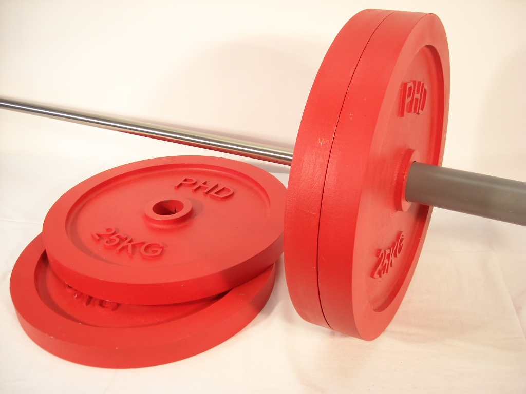 Red Dummy Olympic Weight Discs