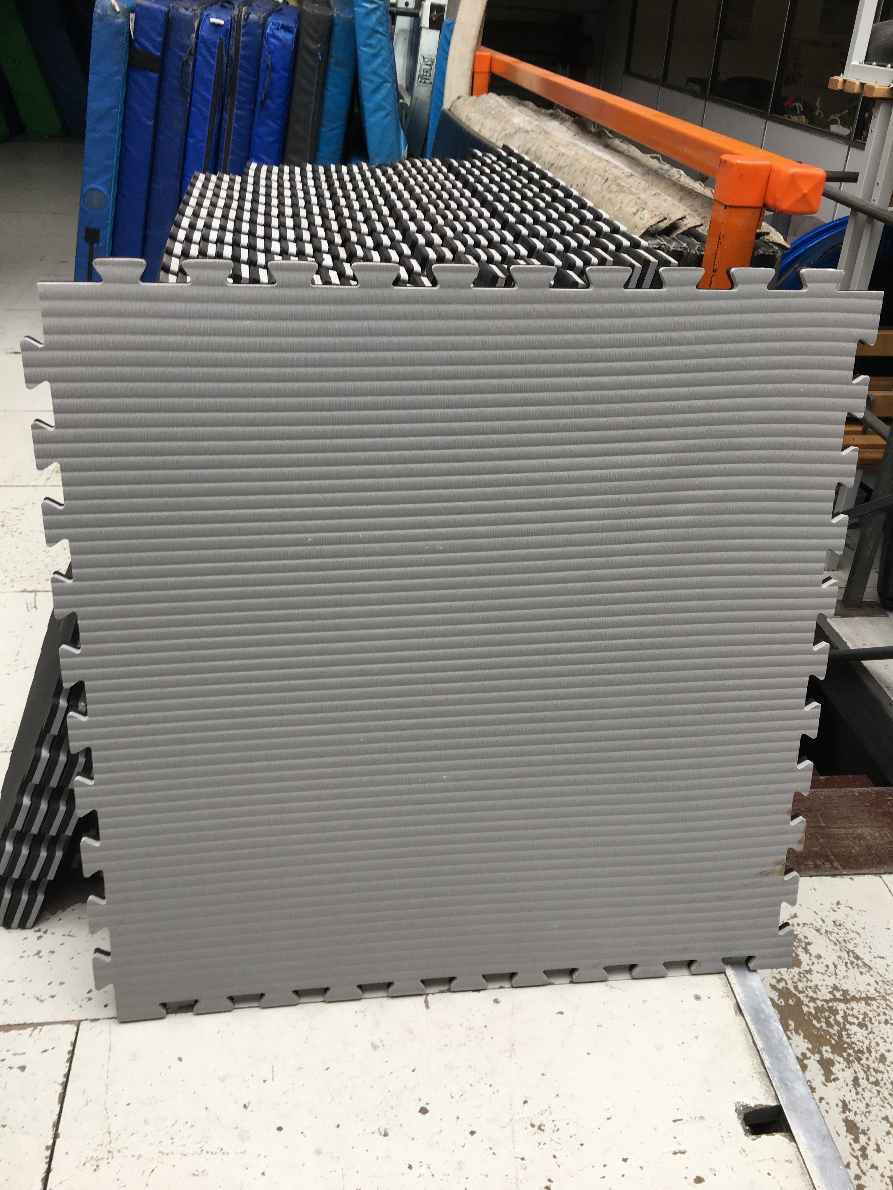 dsc large home gym product mat garage interlocking foam floor exercise fatigue anti eva mats